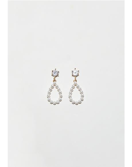 Pearly Tears Earrings