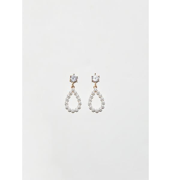 Pearly Tears Earrings