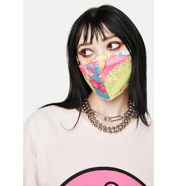 Matt Sarafa Fashion Floral Face Mask