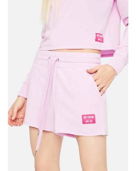Cozy Fleece Lounge Shorts