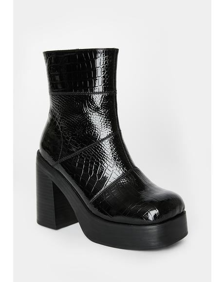 Croc My World Platform Boots