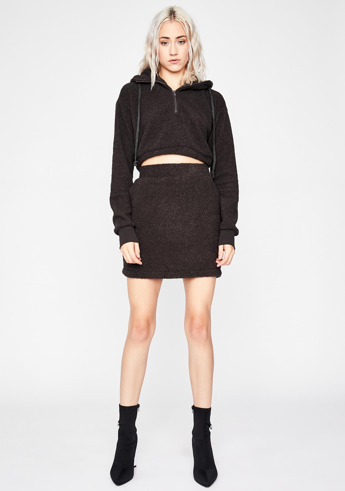 Plush Lover Skirt Set