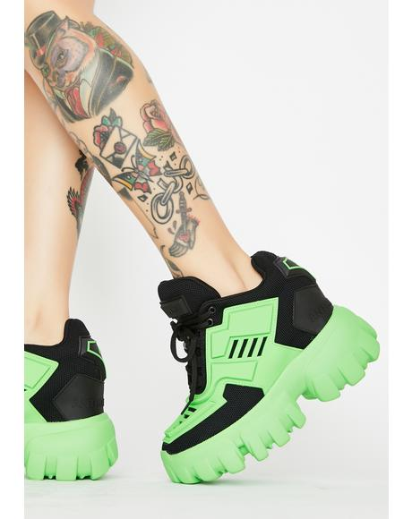 Psycho Candy Platform Sneakers