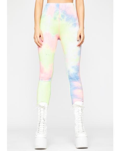 Just Chillin' Tie Dye Leggings