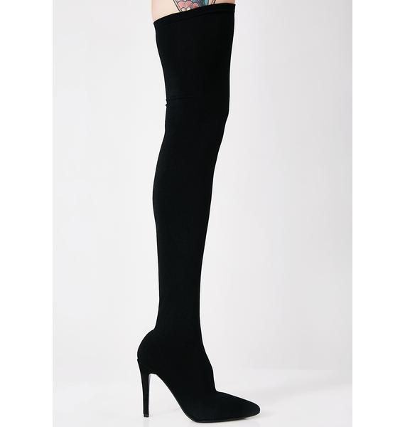 Goal Getter Thigh High Boots