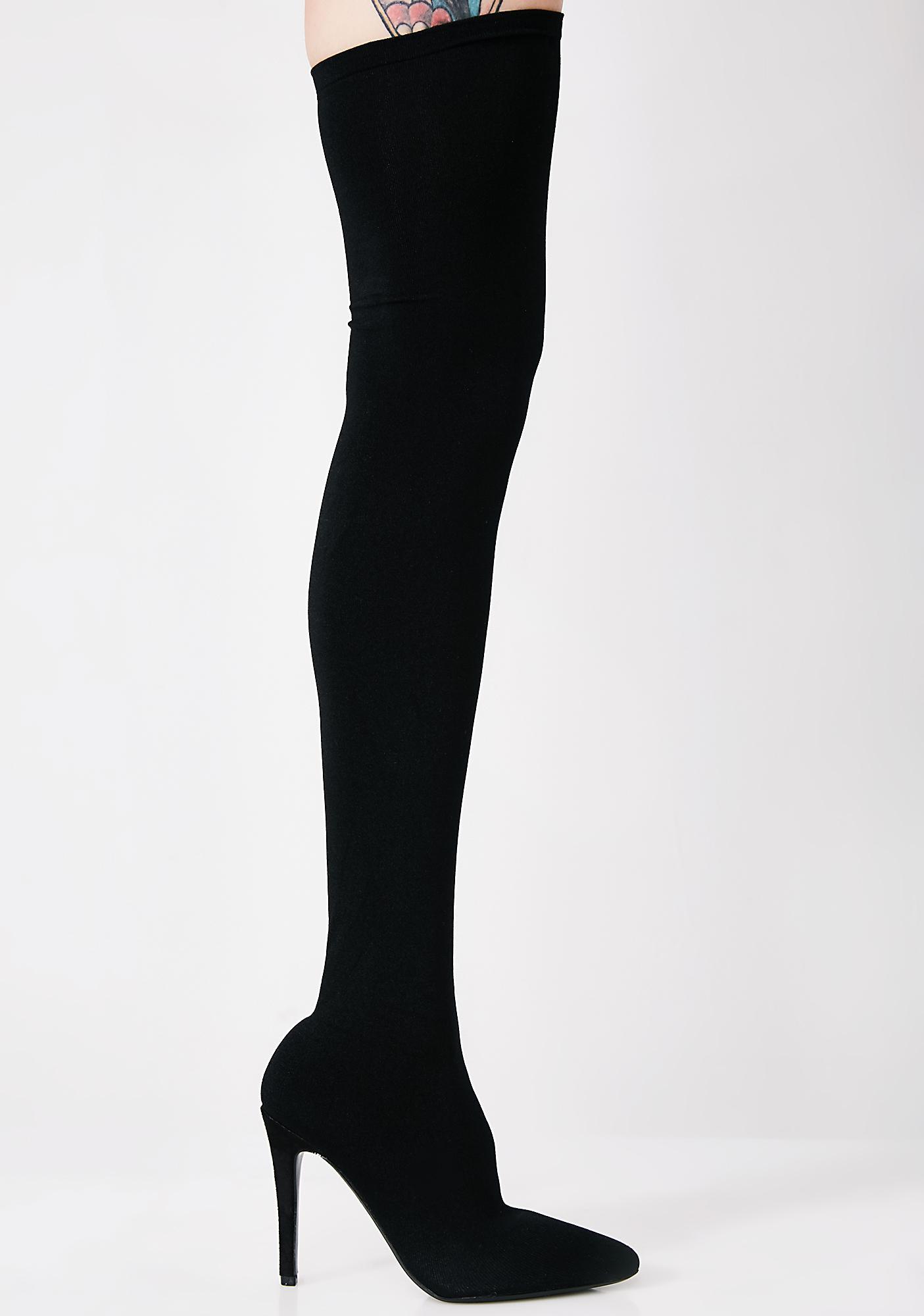 Goal Getter Thigh High Boots