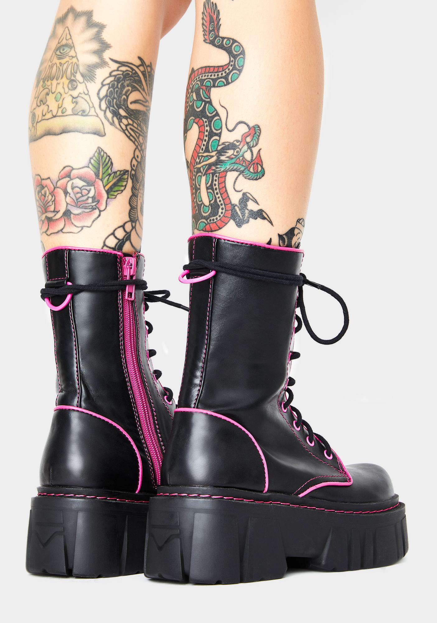 HOROSCOPEZ Licensed Trailblazer Combat Boots