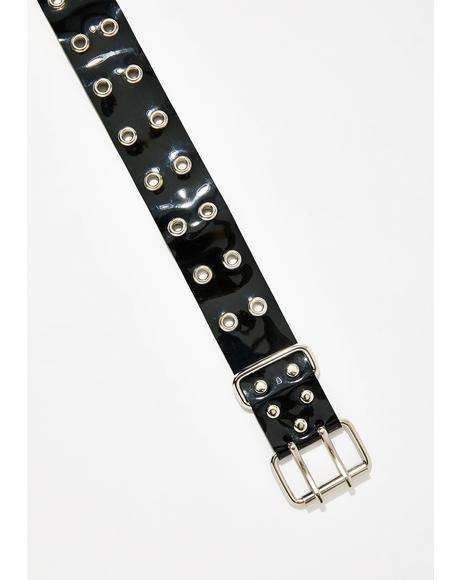 Dark Tuff Like Taffy Belt Choker