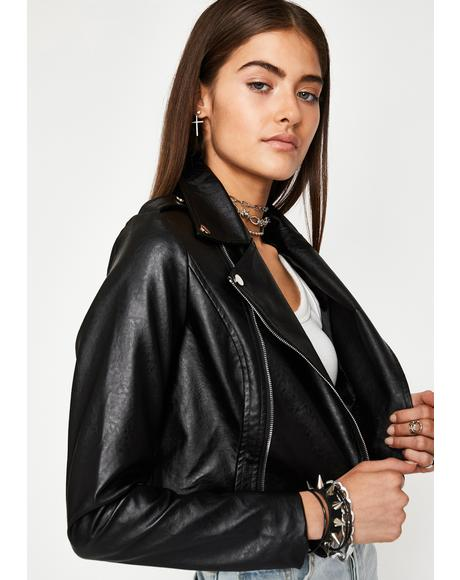 Night Ride Or Die Moto Jacket