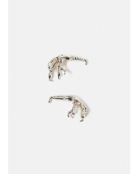 Tooth & Claw Stud Earrings