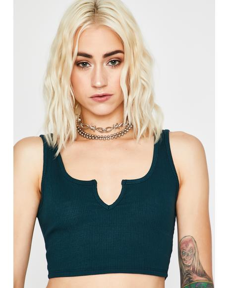Forest Chic Gal Crop Tank