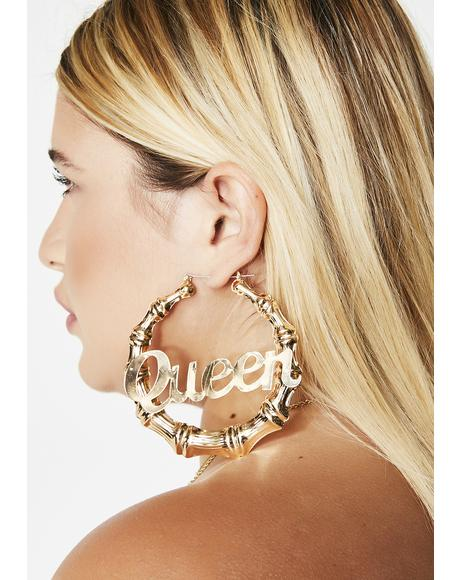 Gilded Your Majesty Earrings