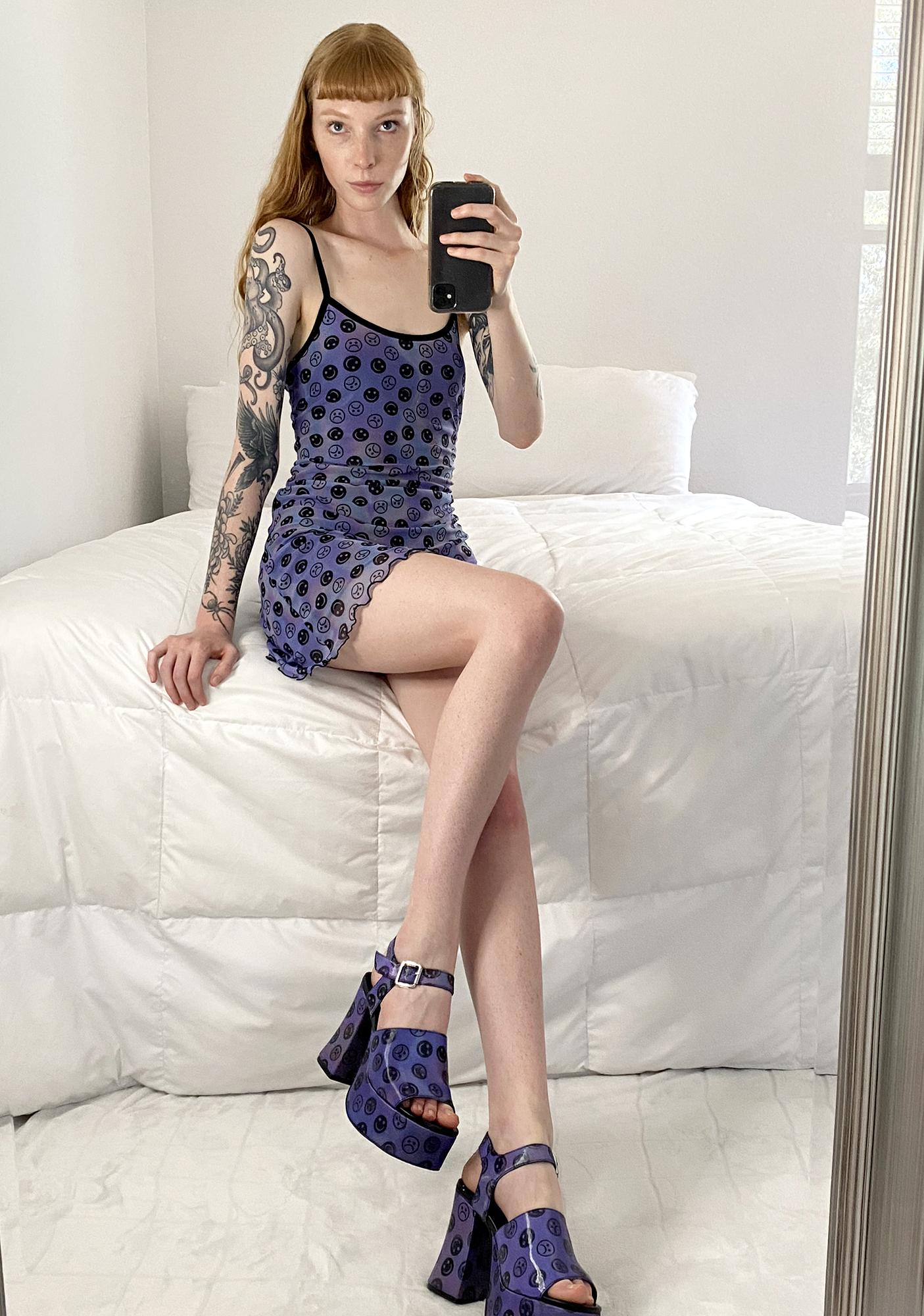 HOROSCOPEZ Mind Games Mini Dress