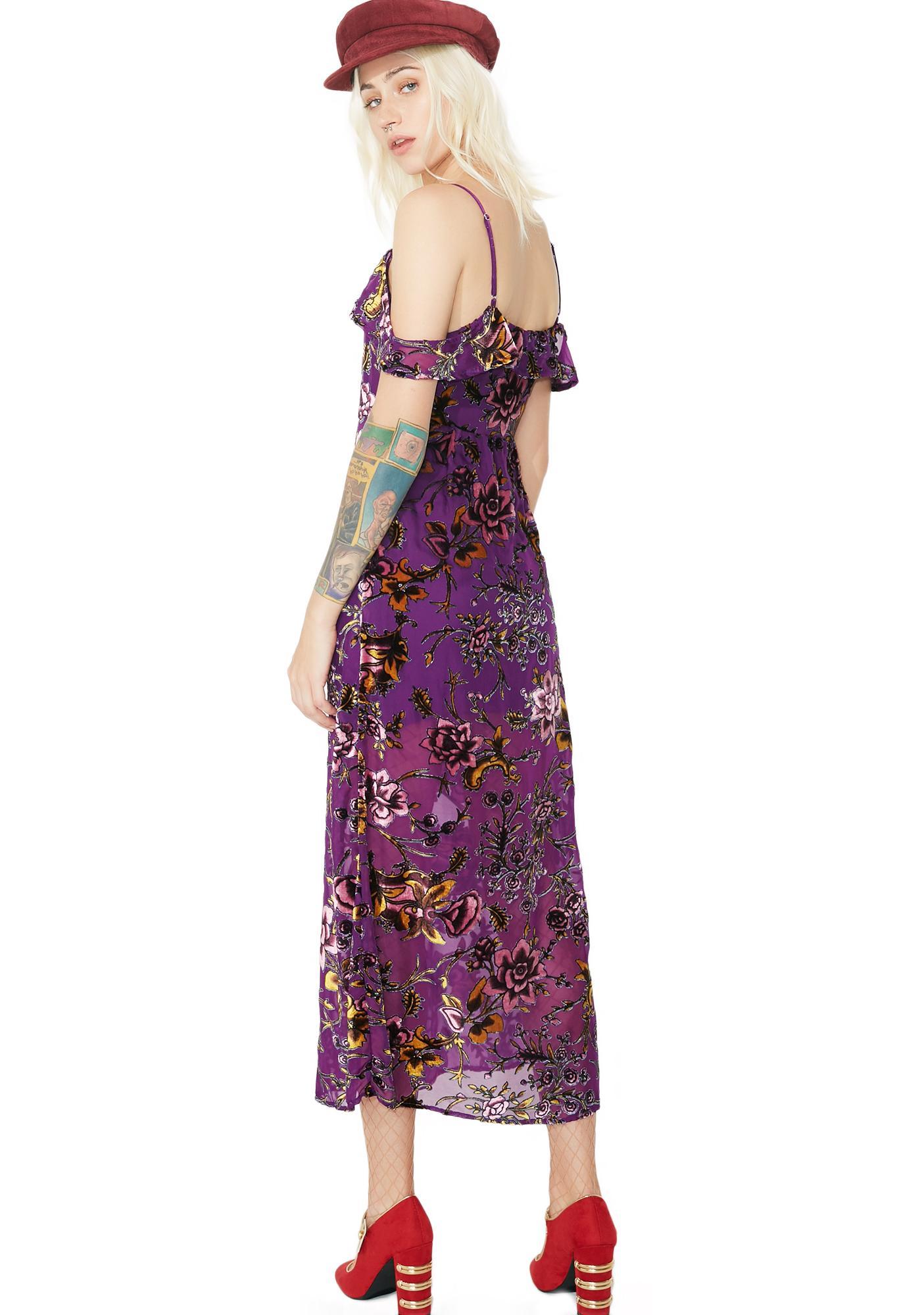 Amaryllis Cold Shoulder Dress