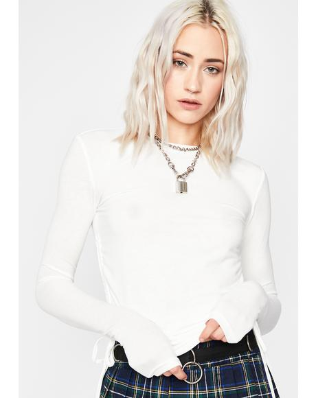 Icy Heightened Heaux Crop Top