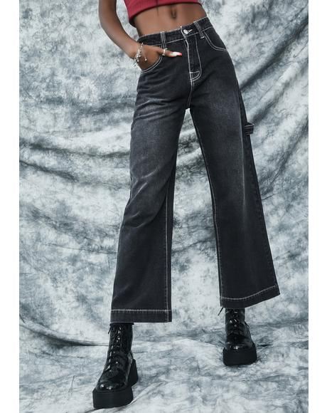 Homecoming Hex Wide Leg Jeans