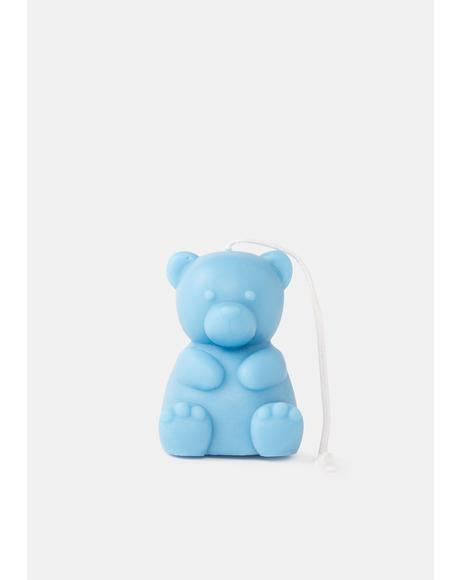Cool Cuddle Me Teddy Bear Candle
