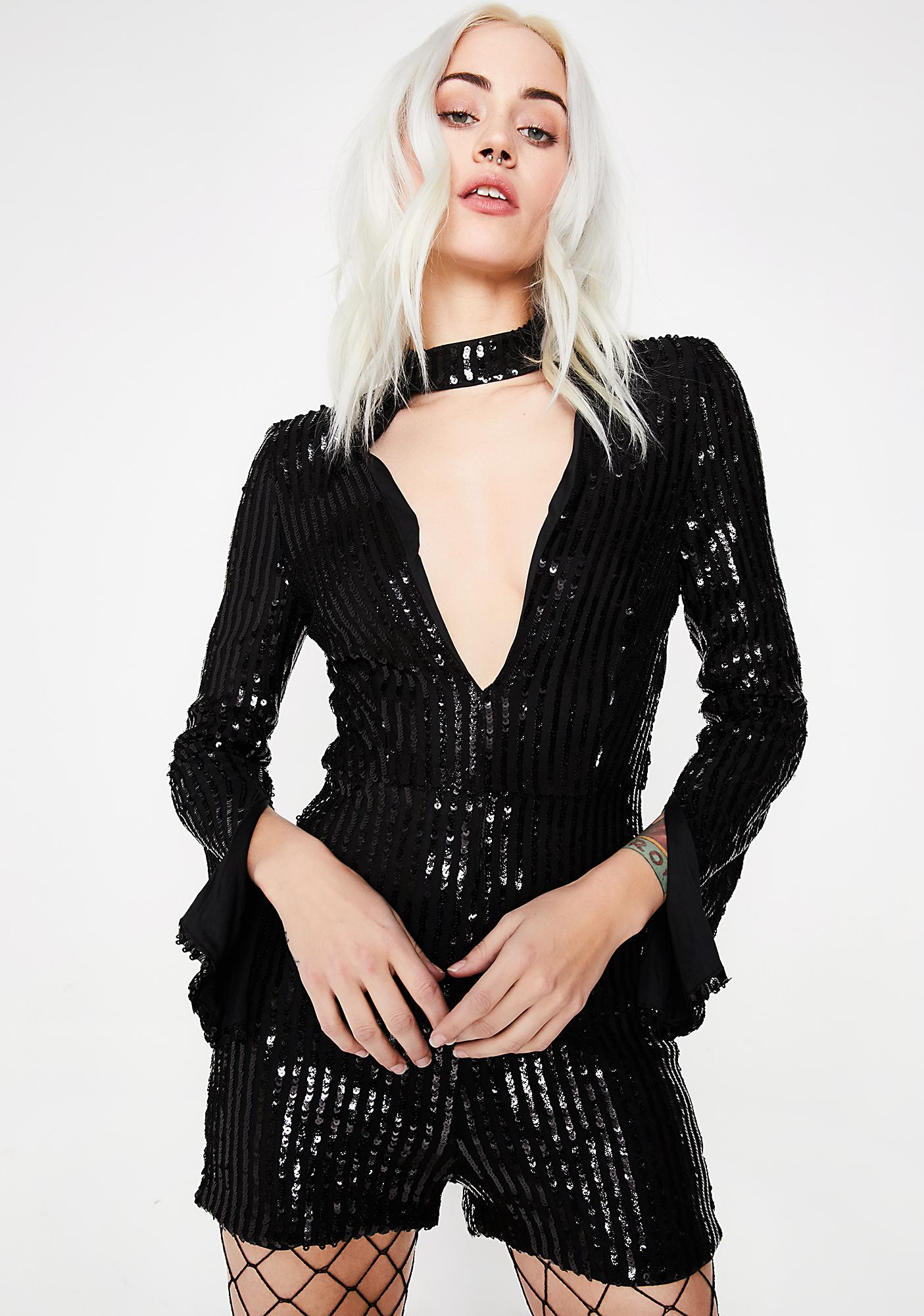 Party Hardy Sequin Romper