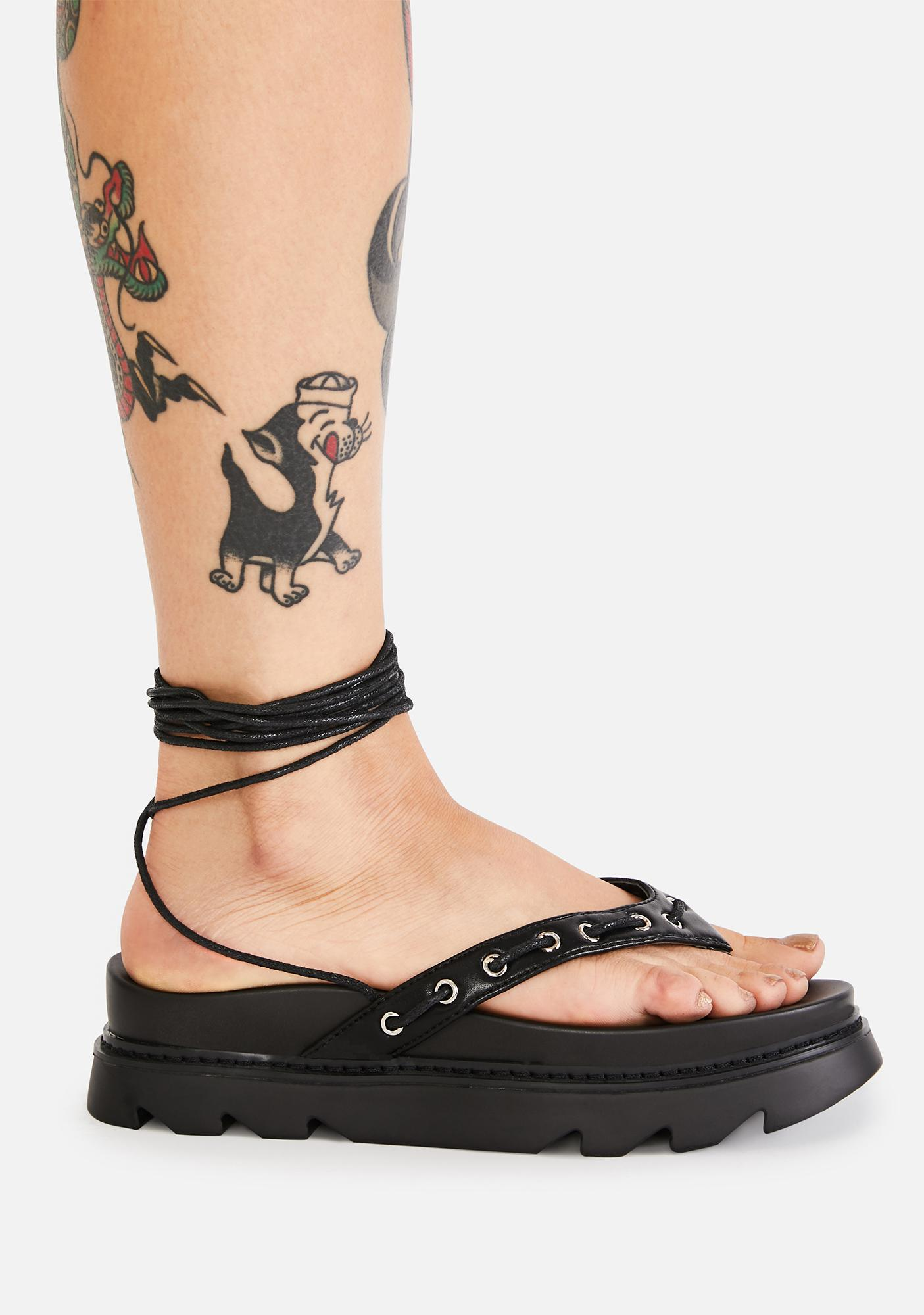 Lamoda There You Go Platform Sandals