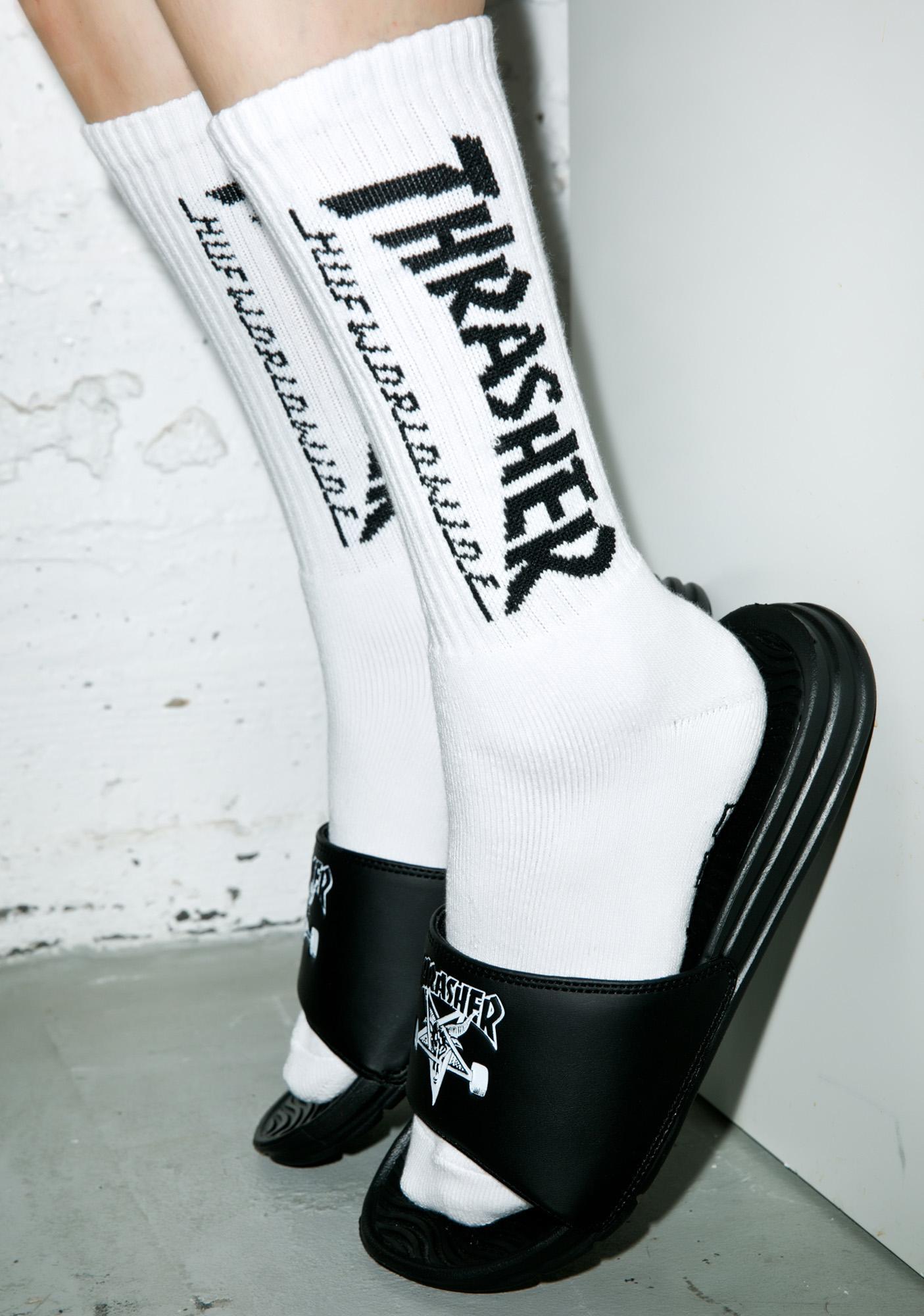 HUF X Thrasher Crew Socks