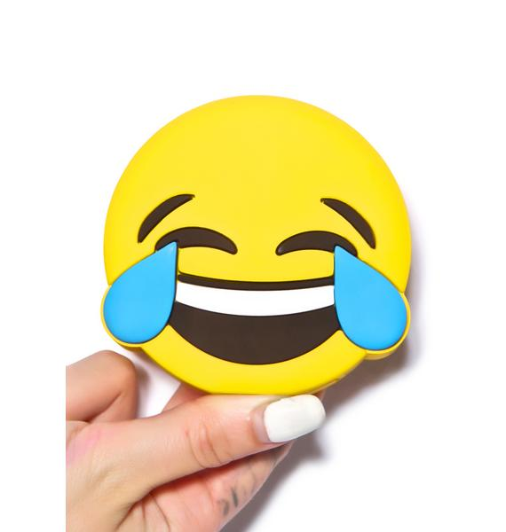 Wattzup Laughing Emoji Power Bank