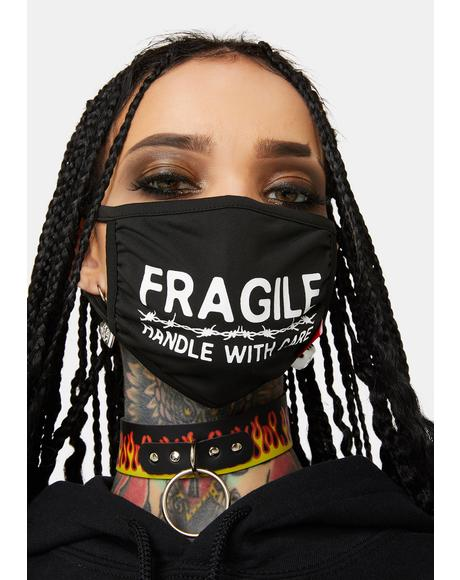 Handle With Care Face Mask
