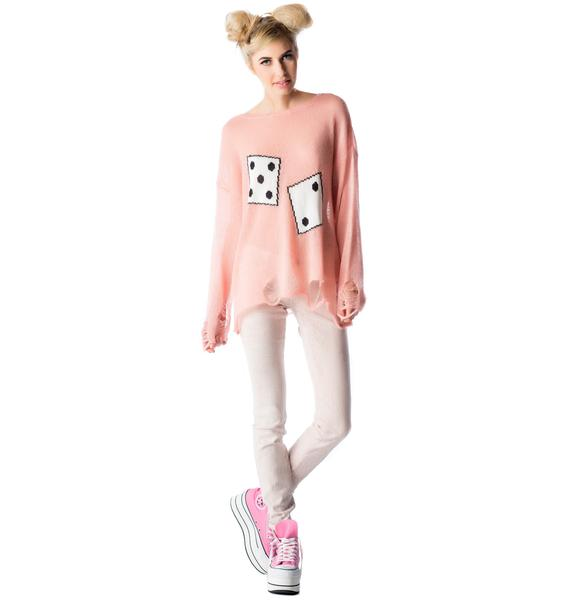Wildfox Couture Domino Effect Lennon Sweater