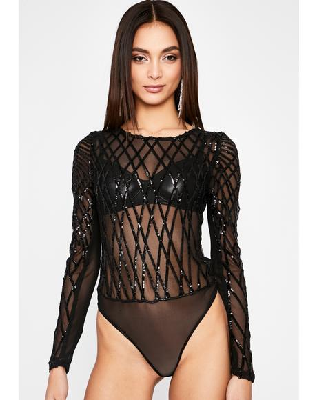 Complicated Crush Sequin Bodysuit
