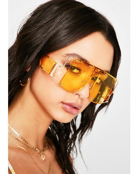 Electric Club Clout Shield Sunglasses