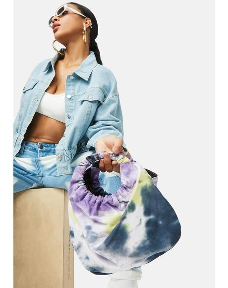 Freaky No Secrets Tie Dye Handbag