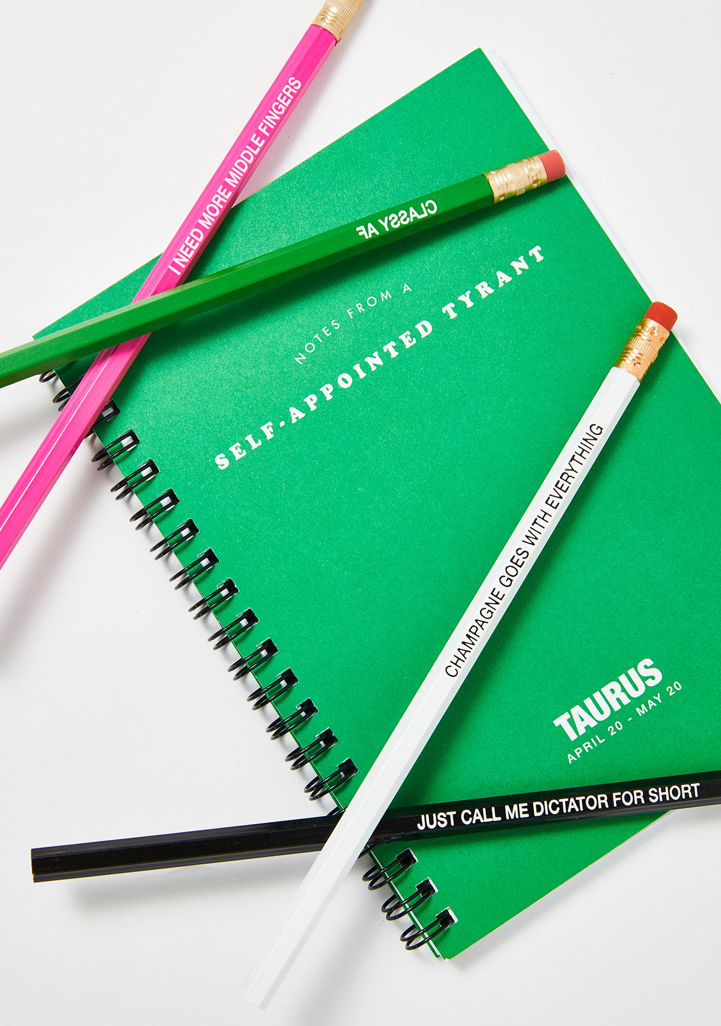 Whiskey River Soap Taurus Pencils