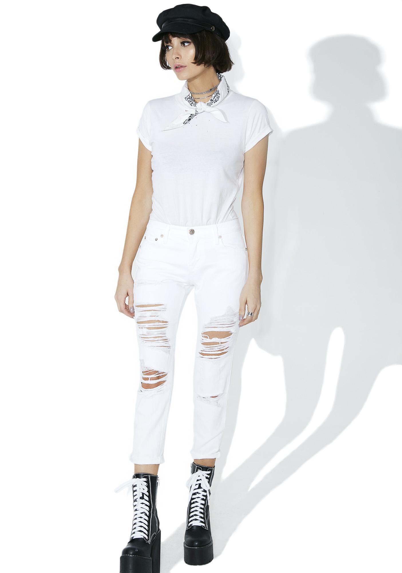 Remy Cropped Boyfriend Jeans
