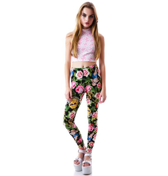 Joyrich Angelic Rich Floral Leggings