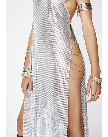 Goin' In For The Slay Chainmail Dress