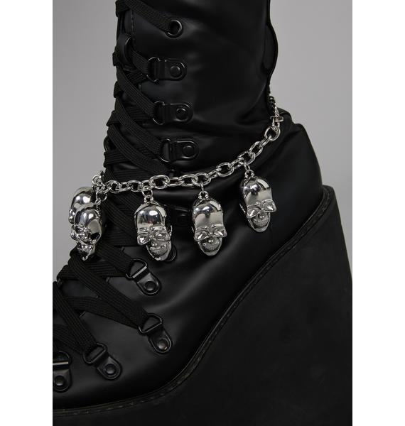 Dead Company Skull Anklet