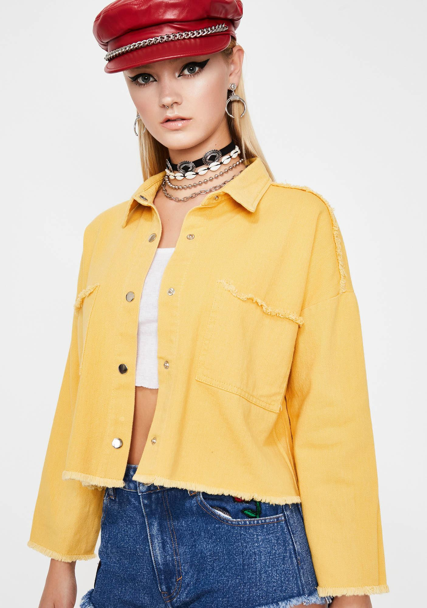 Miles Away Cropped Jacket