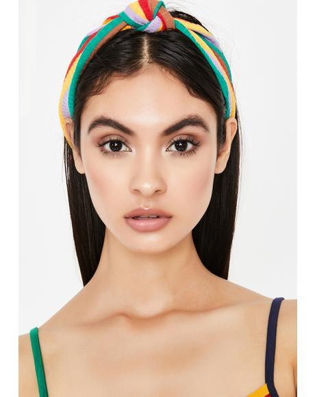 Fave Flave Rainbow Headband