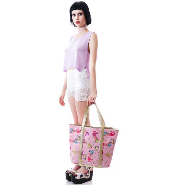 Iron Fist Lollipop Lorelei Tote Bag
