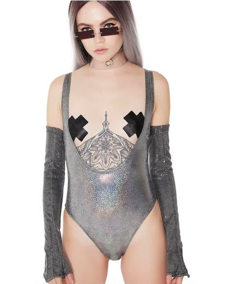 Super Moon Scoop Bodysuit