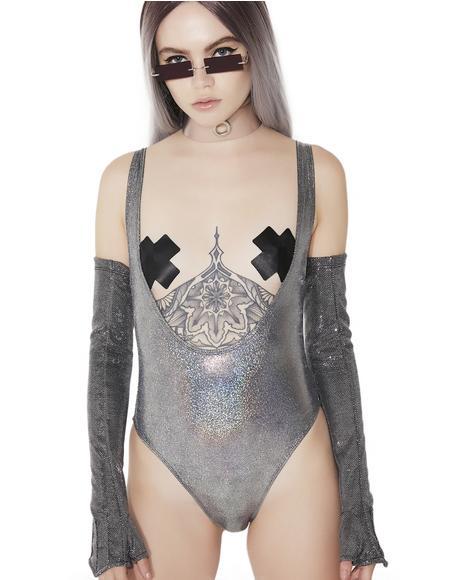 Super Moon Scoop Bodysuit