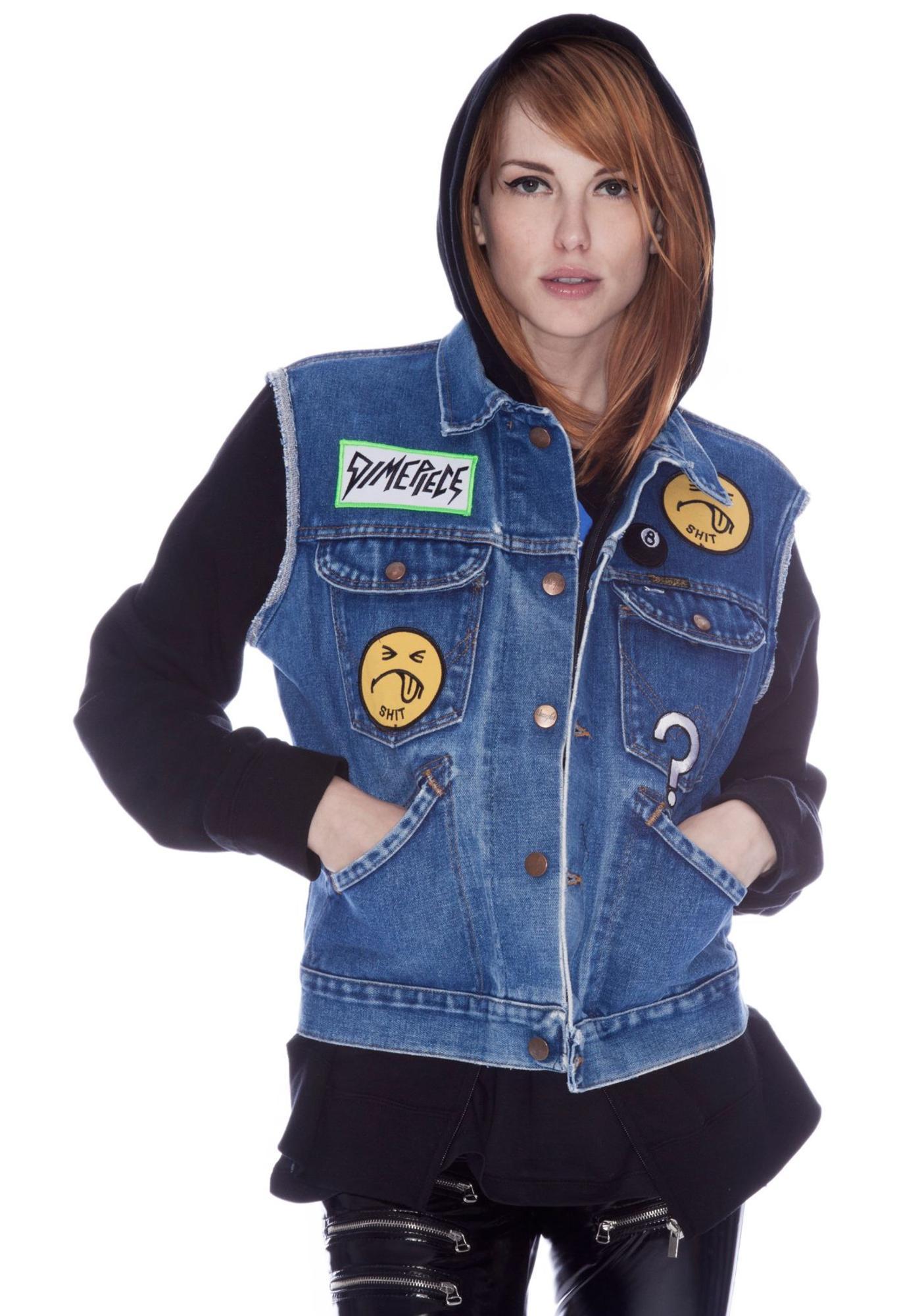 Dimepiece Patches Jean Vest