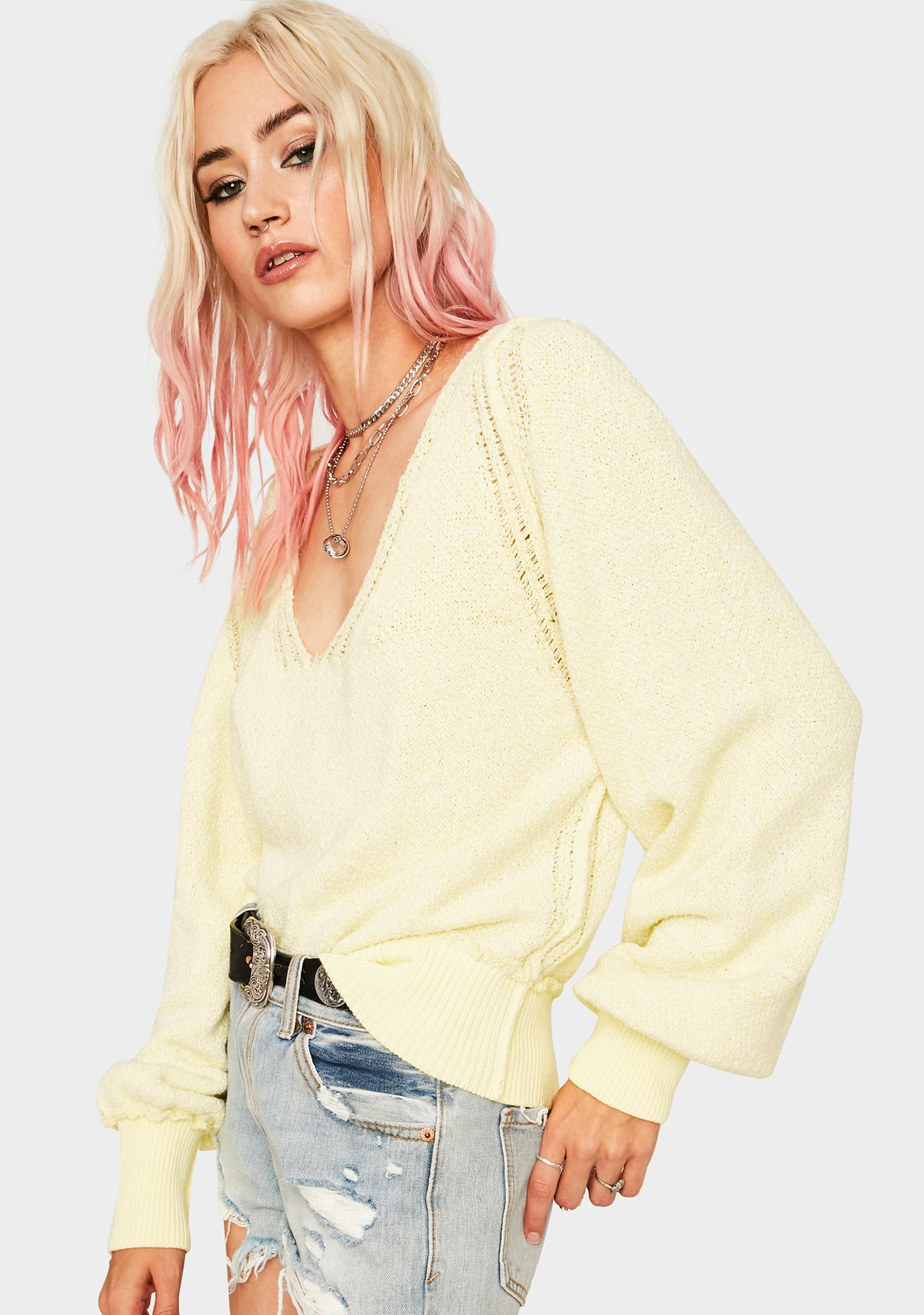 Free People Stevie Knit Cardigan