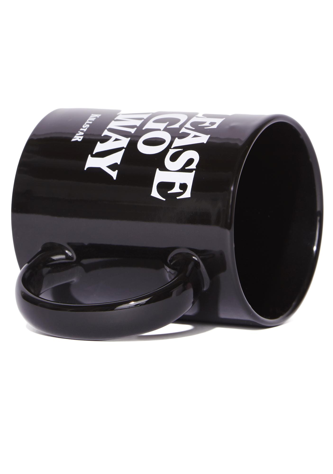 Killstar Go Away Coffee Mug