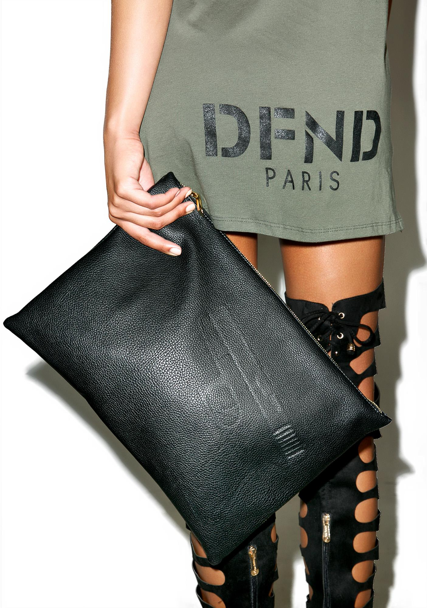 Defend Paris Defend Large Paris Clutch