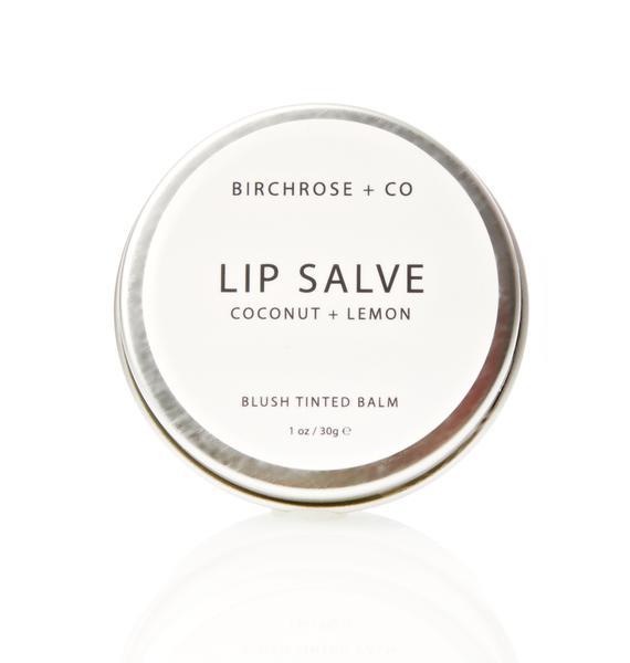 Birchrose + Co Coconut + Lemon Lip Salve