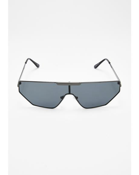 Above The Law Shield Sunglasses