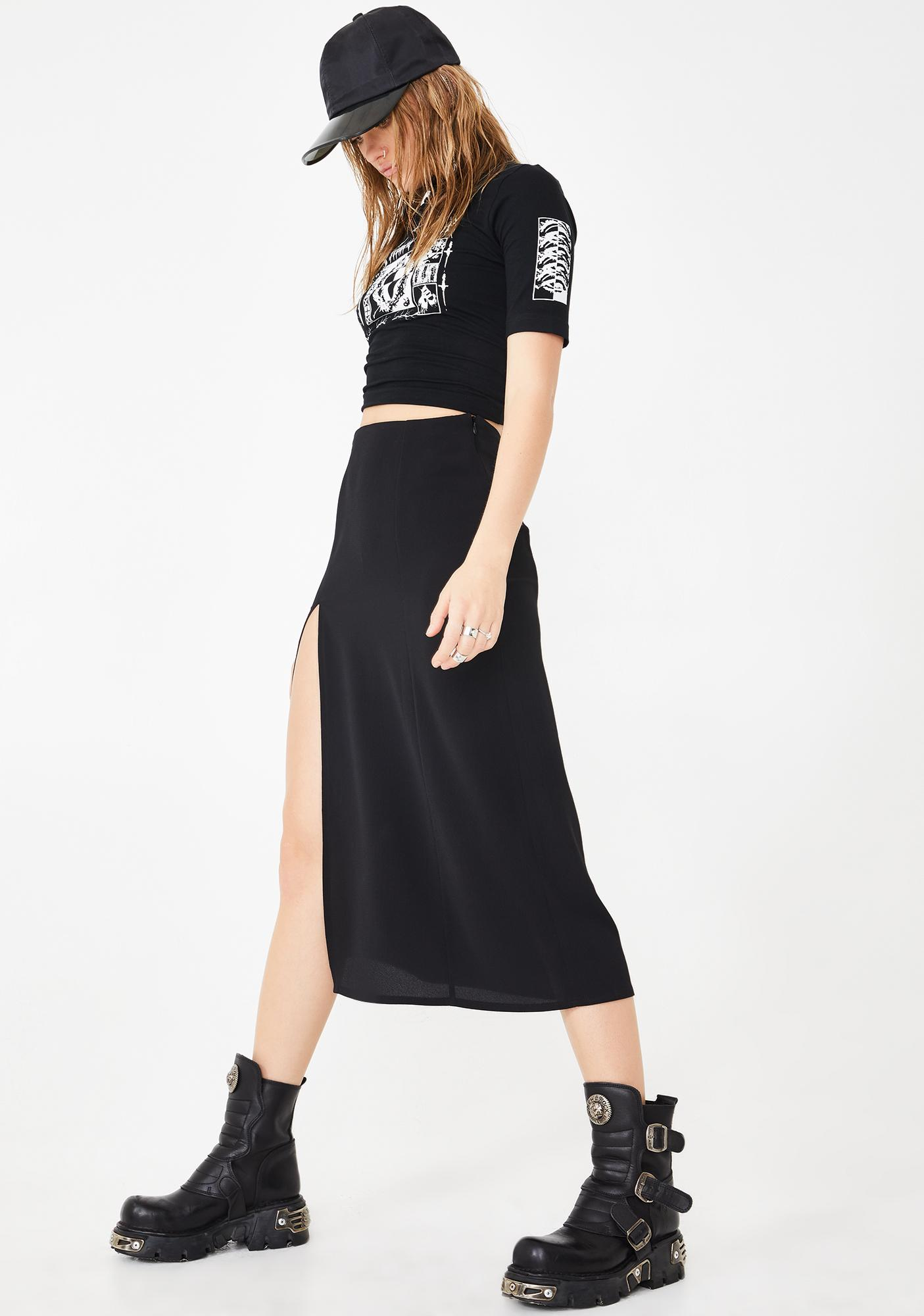 Mary Wyatt London Sophia Midi Skirt