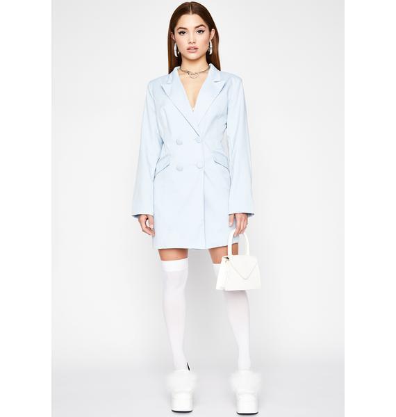 Higher Up Blazer Dress