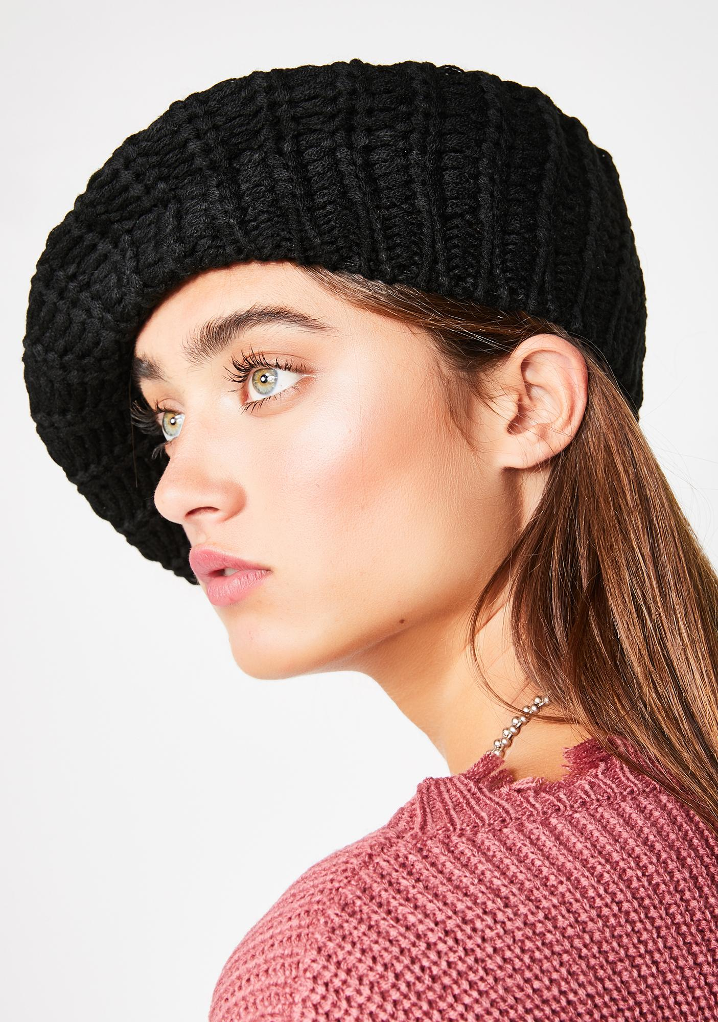 Wicked Posh Chic Pom Pom Beanie