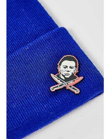 Michael Myers Glow In The Dark Pin